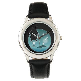 Den Aussie pingvinsymbolen lurar rostfritt Armbandsur