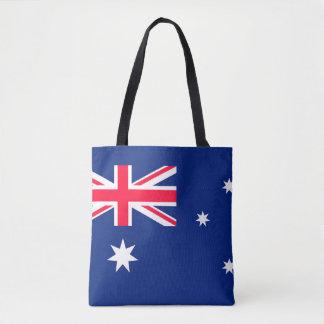 Den Australien flagga avbildar för all över - Tygkasse
