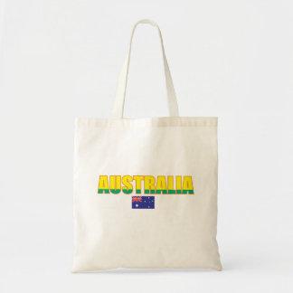 Den Australien flagga hänger lös Budget Tygkasse