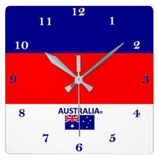 Den Australien väggen tar tid på Fyrkantig Klocka