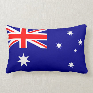 Den australiensiska flaggalumbaren kudder dekorativ kudde