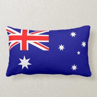 Den australiensiska flaggalumbaren kudder lumbarkudde