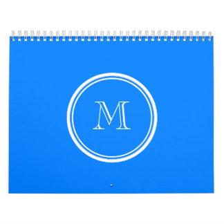 Den Azur kicken avslutar den initiala kulöra Kalender
