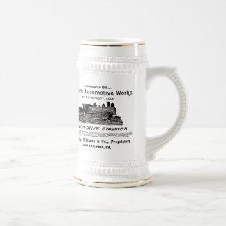 Den Baldwin lokomotivet fungerar öl 1895 Stein Ölkrus