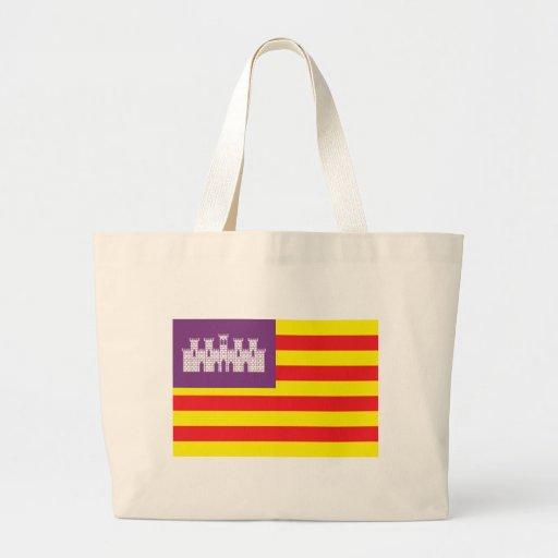Den Balearic Island flaggatotot hänger lös Kasse