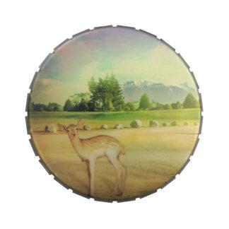 Den Bambi hjortgodisen boxas Godisburkar Av Jelly Belly