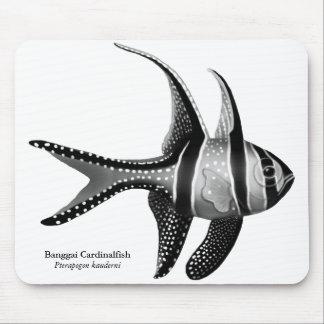Den Banggai cardinalfishen Mousepad Musmatta