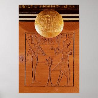 Den bärbara bröstkorgen, specificerar av Tutankham Poster