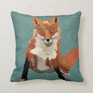 Den bärnstensfärgade räven kudder kudde