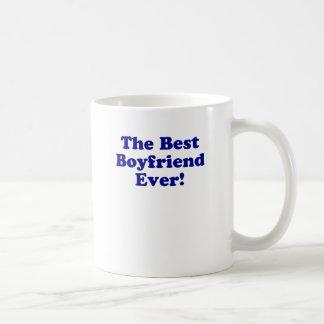 Den bäst pojkvännen någonsin vit mugg