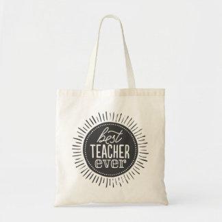 Den bäst totot för lärare hänger lös någonsin budget tygkasse