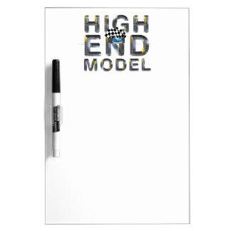 Den BÄSTA kicken avslutar modellerar Dry Erase White Board