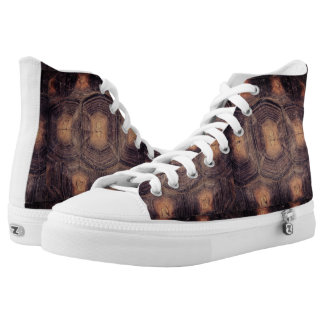 Tortoise Shell High Top Shoes