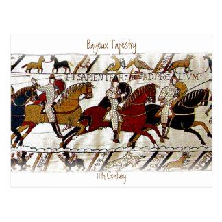 Den Bayeux tapestryen Vykort