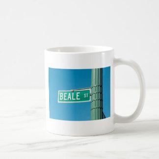 Den Beale gatan undertecknar Kaffemugg