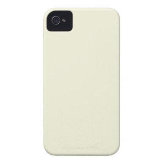 Den beige kicken avslutar kulört iPhone 4 Case-Mate fodraler