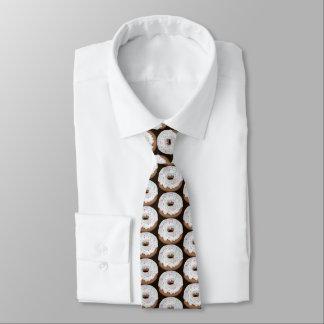 Den belade med tegel strilade vanilj iced munken slips