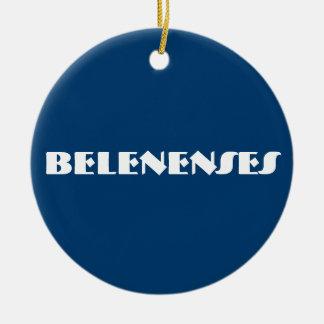 Den Belenenses anpassningsbar cirklar prydnaden Julgransprydnad Keramik