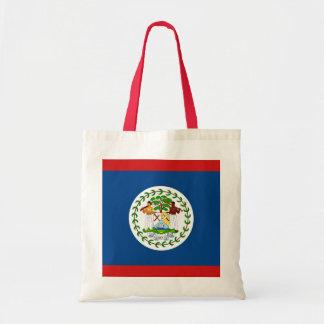 Den Belize flagga hänger lös Tygkasse