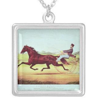 Den berömda hästen, George M. Patchen Silverpläterat Halsband