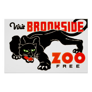 Den besökBrookside zooen frigör Poster