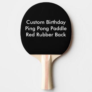 Den beställnings- födelsedagpingen Pong paddlar, Pingisracket