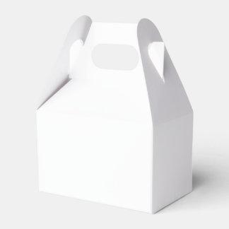 Den beställnings- gavelfavören boxas pappersaskar