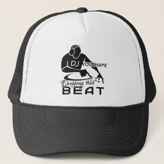 Den beställnings- hatten för DJ - välj färg Truckerkeps