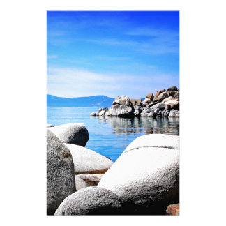 Den beställnings- Lake Tahoe Sandhamnen fotografer Brevpapper