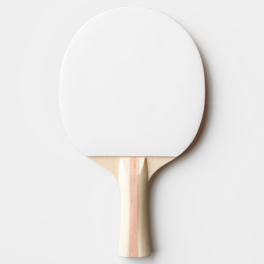 Pingisbollracket, Rött Gummi Back