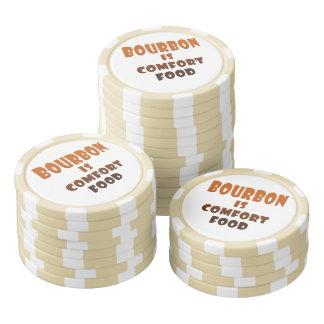 DEN BESTÄLLNINGS- POKER GÅ I FLISOR - BOURBON är Poker Marker