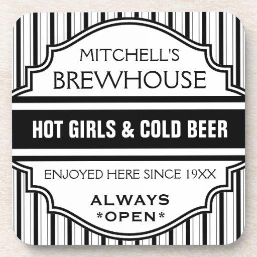 Den beställnings- roliga hem- pubbrewhousen undert dryck underlägg