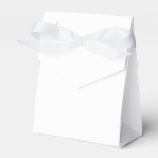 Den beställnings- tältfavören boxas (vitbandet) pappersask