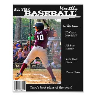 Den beställnings- tidskriften täcker för sportar fototryck