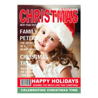 Den beställnings- tidskriften täcker kortet för 12,7 x 17,8 cm inbjudningskort