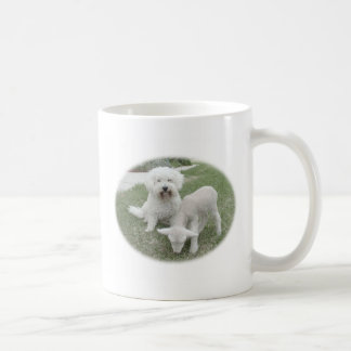 Den Bichon Lamb-Minderen gåvan spänner Kaffemugg