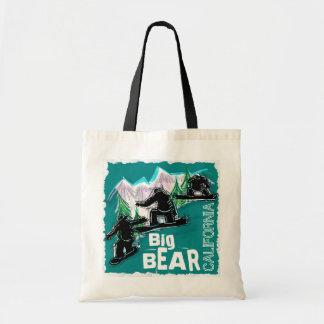 Den Big Bear Mtn Kalifornien souvenirsnowboarden h Tygkasse