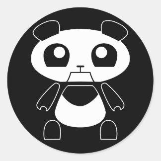 Den Bionic pandaen spelar klistermärken -