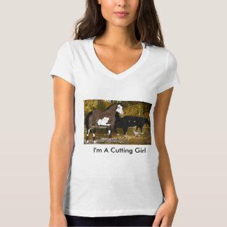 Den bita hästen målar hästen tee shirts