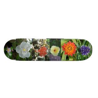 Den blom- skridskon stiger ombord mini skateboard bräda 18,7 cm
