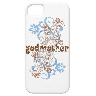 Den blommade gudmor virvlar runt iPhone 5 Case-Mate skydd