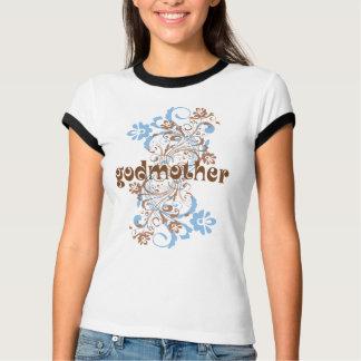 Den blommade gudmor virvlar runt tee shirts