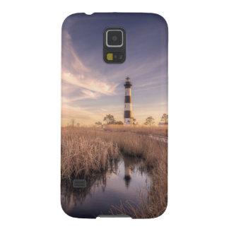 Den Bodie öfyren på solnedgången Galaxy S5 Fodral
