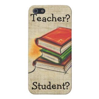 Den boklärare/studenten tillfogar känd fodraliPhon iPhone 5 Fodraler