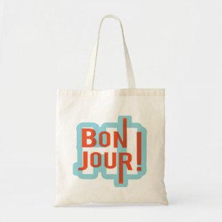 Den Bonjour budgettotot hänger lös Tygkasse