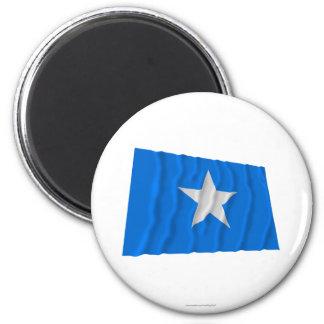 Den Bonnie blåttflagga/den västra Florida republik Magnet För Kylskåp