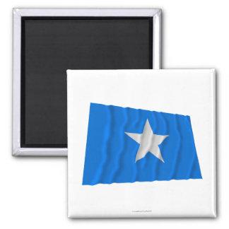 Den Bonnie blåttflagga/den västra Florida republik Kylskåpmagneter