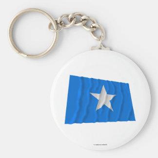 Den Bonnie blåttflagga/den västra Florida republik Nyckelring
