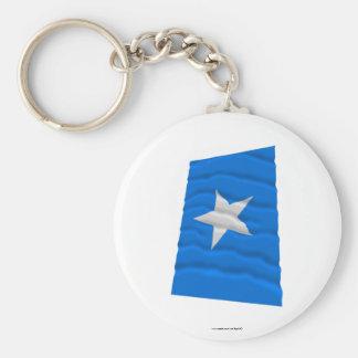 Den Bonnie blåttflagga/den västra Florida republik Nyckelringar
