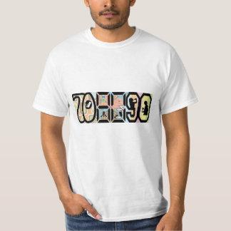 Den bördiga 70-tal, växte upp i 80-talhar som tshirts